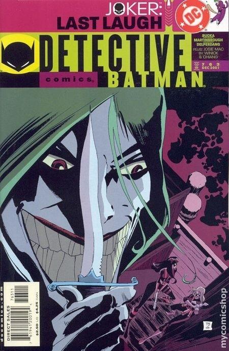 Couverture de Detective Comics (1937) -763- Detective comics : batman