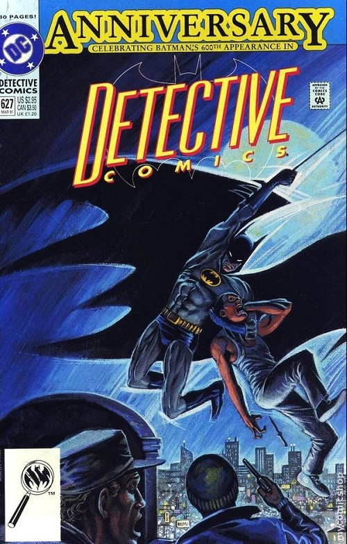 Couverture de Detective Comics (1937) -627- The case of the chemical syndicate