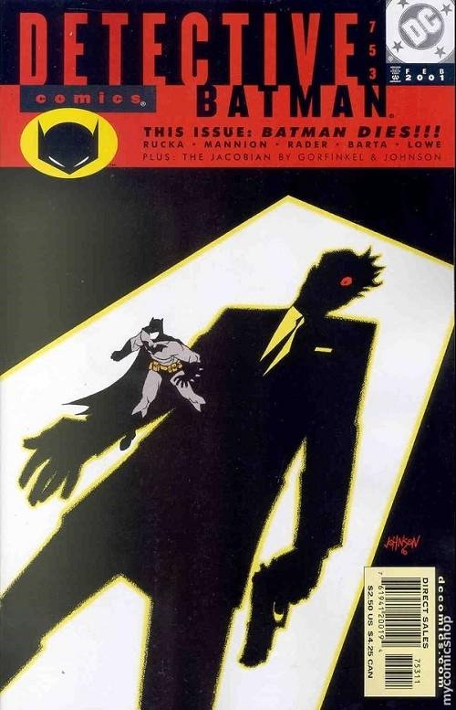 Couverture de Detective Comics (1937) -753- Detective comics : batman