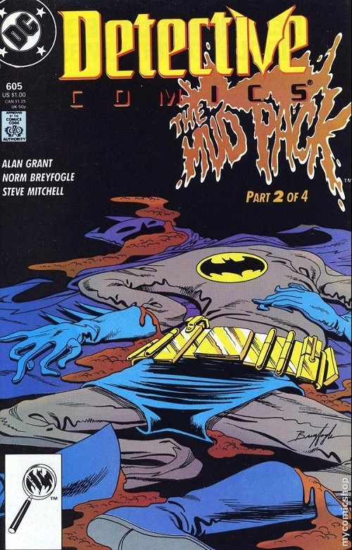 Couverture de Detective Comics (1937) -605- Detective Comics: Batman