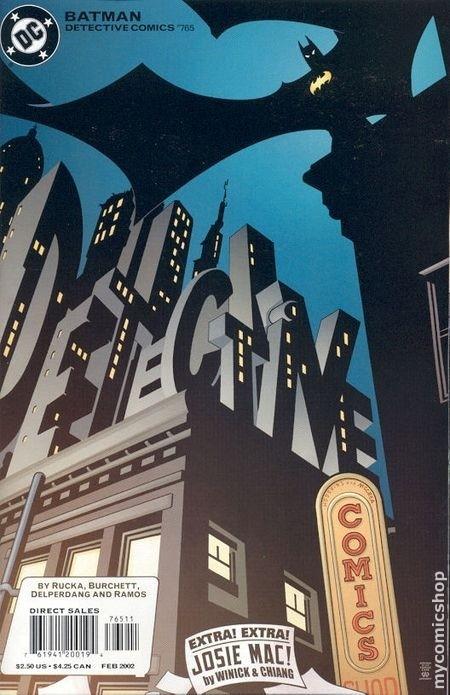 Couverture de Detective Comics (1937) -765- Detective comics : batman