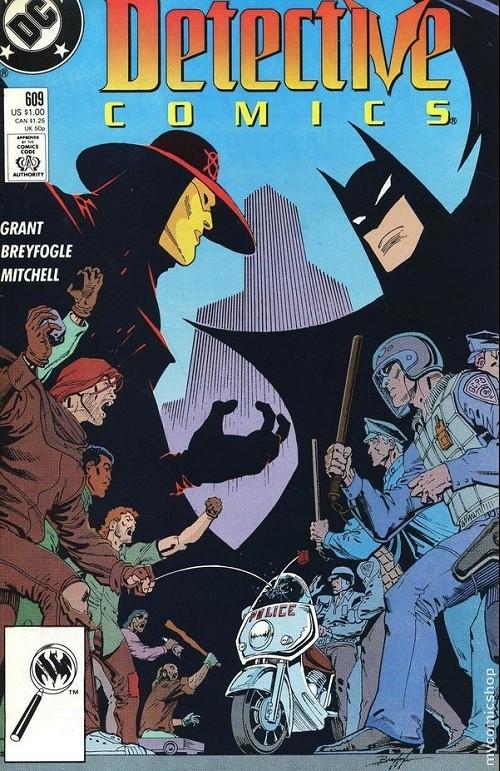 Couverture de Detective Comics (1937) -609- Detective comics : batman