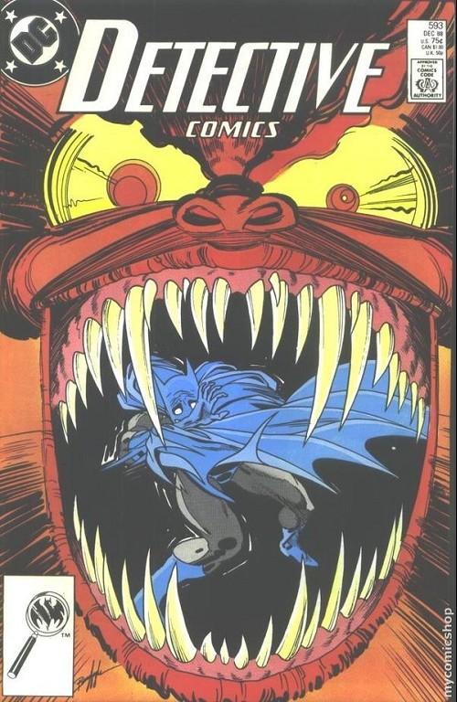 Couverture de Detective Comics (1937) -593- Detective Comics: Batman