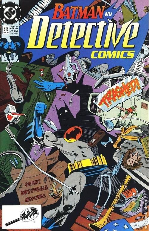 Couverture de Detective Comics Vol 1 (1937) -613- Trash