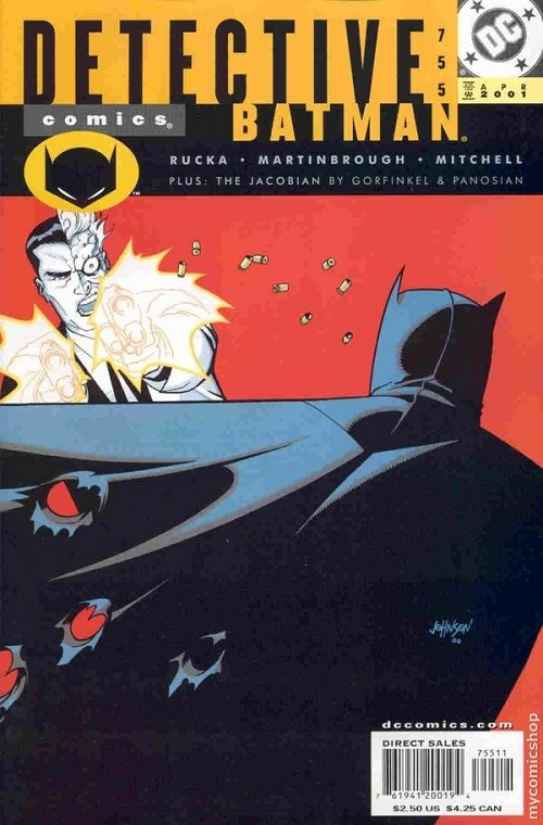 Couverture de Detective Comics (1937) -755- Detective Comics: Batman