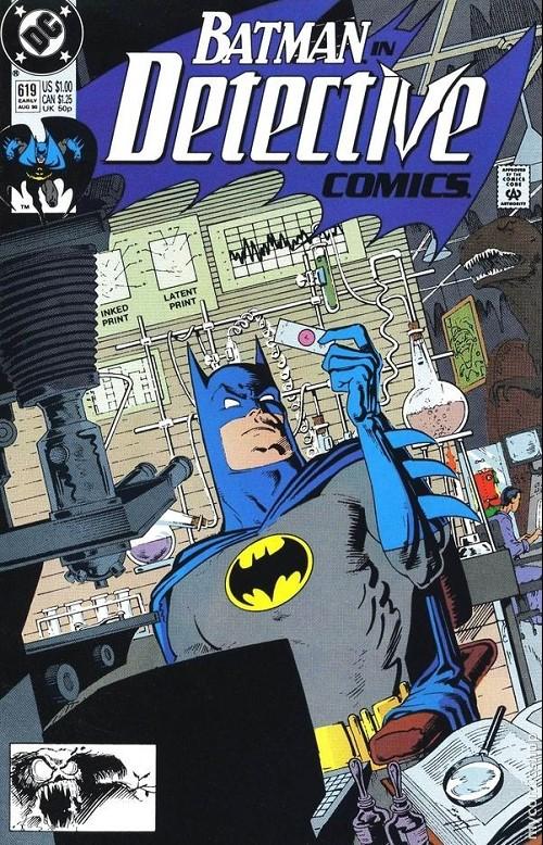 Couverture de Detective Comics (1937) -619- Detective comics : batman