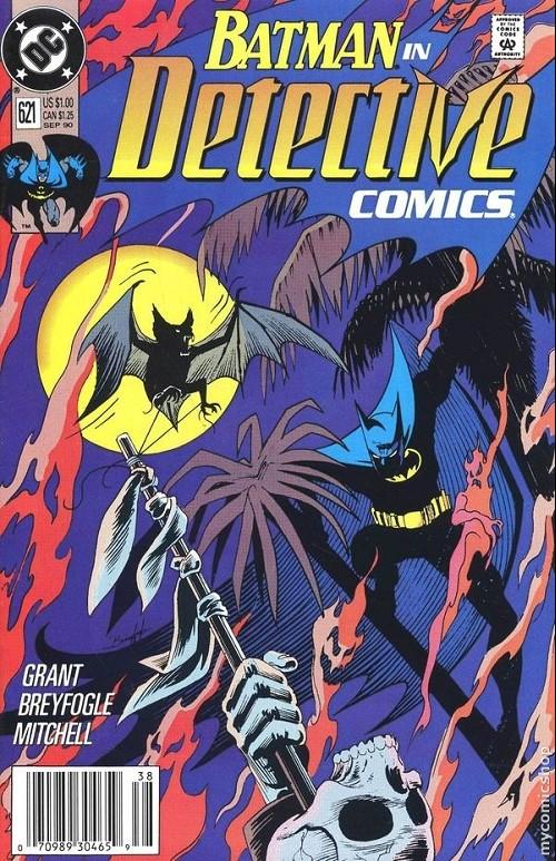 Couverture de Detective Comics (1937) -621- Detective comics : batman