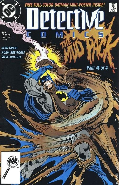 Couverture de Detective Comics Vol 1 (1937) -607- Detective comics : batman