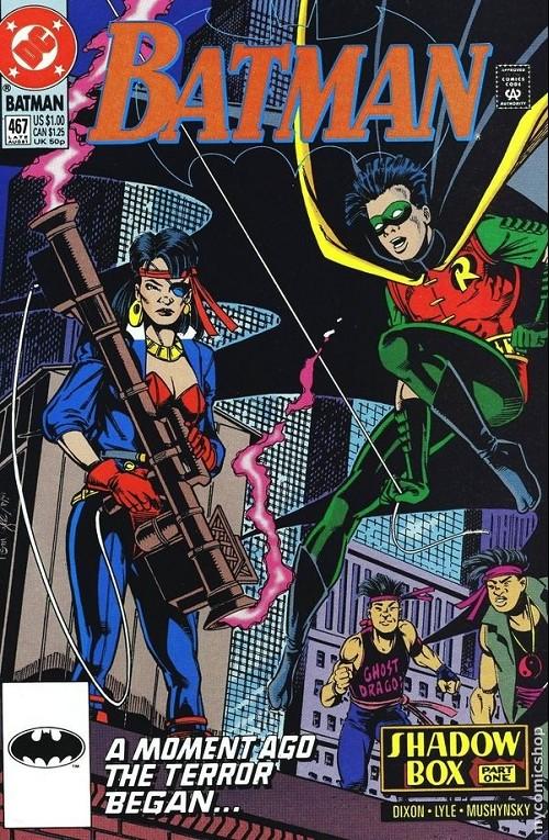 Couverture de Batman Vol.1 (DC Comics - 1940) -467- Batman
