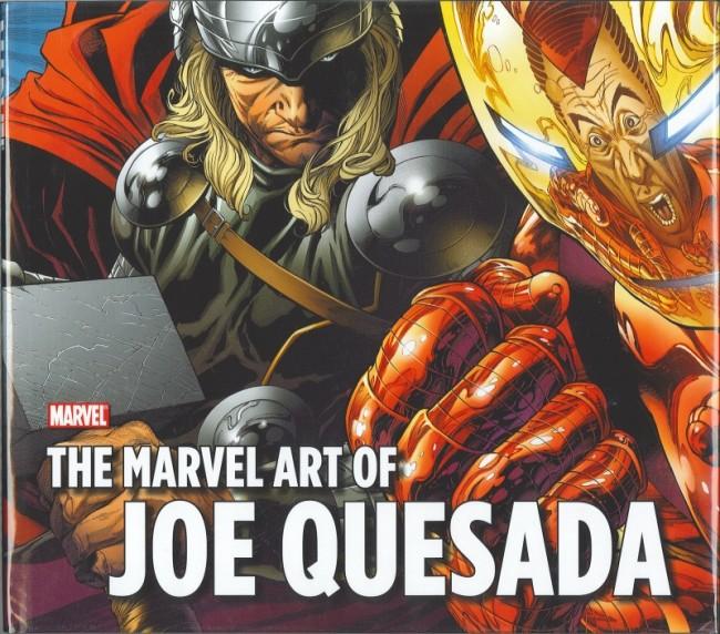 Couverture de (AUT) Quesada - The Marvel Art of Joe Quesada