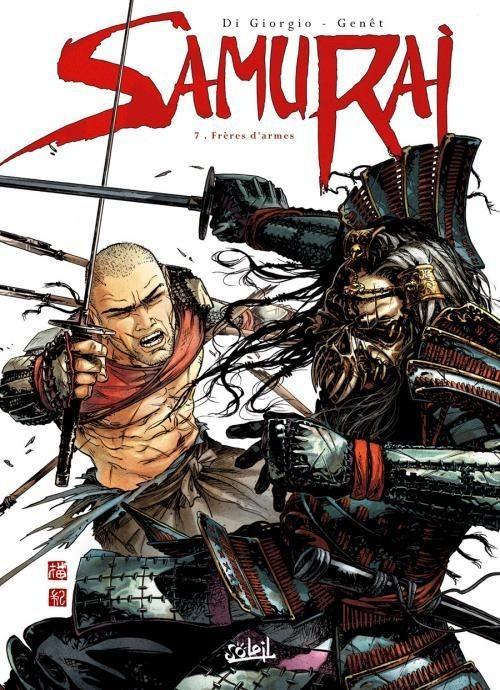 Couverture de Samurai -7- Frères d'armes