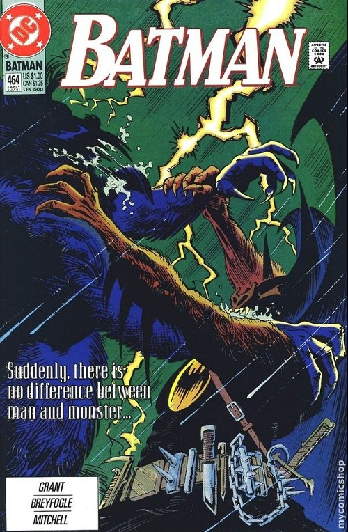 Couverture de Batman (1940) -464- Batman