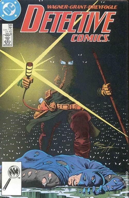 Couverture de Detective Comics (1937) -586- Detective comics : batman