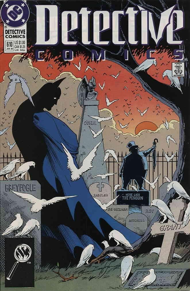 Couverture de Detective Comics (1937) -610- Detective comics : batman