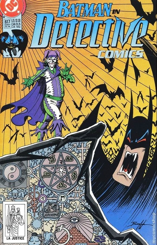 Couverture de Detective Comics (1937) -617- Detective comics : batman