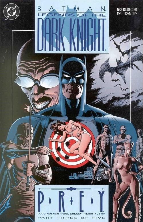 Couverture de Batman: Legends of the Dark Knight (1989) -13- Prey - part three of five