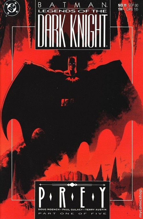 Couverture de Batman: Legends of the Dark Knight (1989) -11- Prey - part one of five