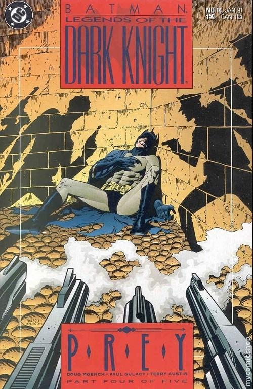 Couverture de Batman: Legends of the Dark Knight (1989) -14- Prey - part four of five