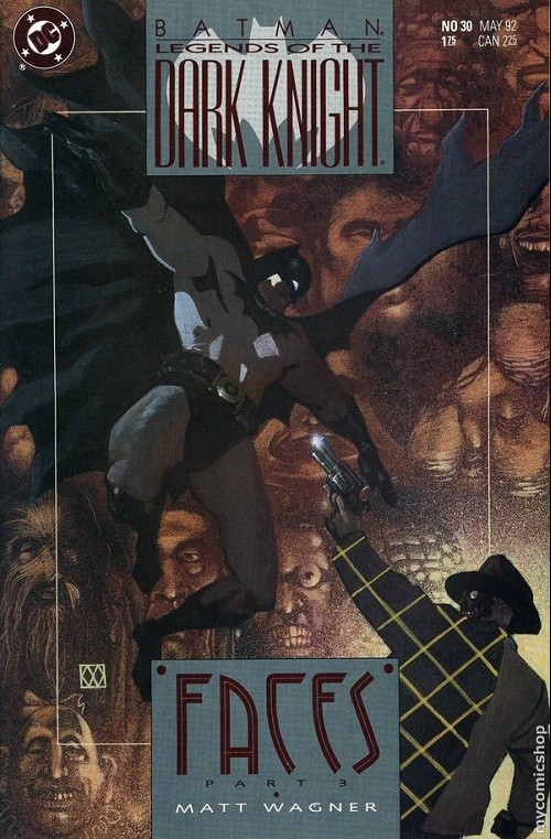 Couverture de Batman: Legends of the Dark Knight (1989) -30- Faces 3