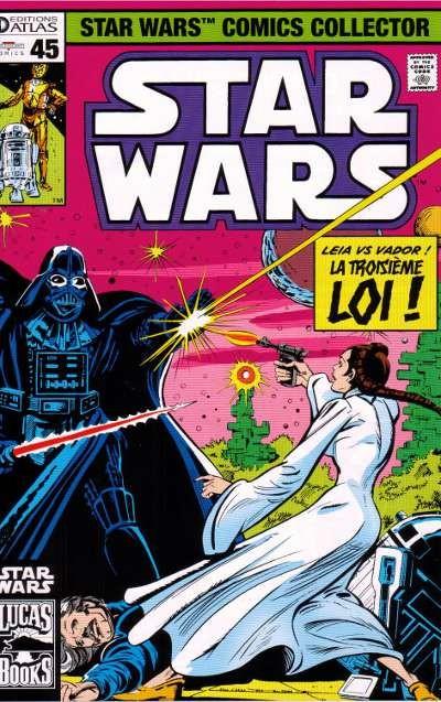 Couverture de Star Wars (Comics Collector) -45- Numéro 45