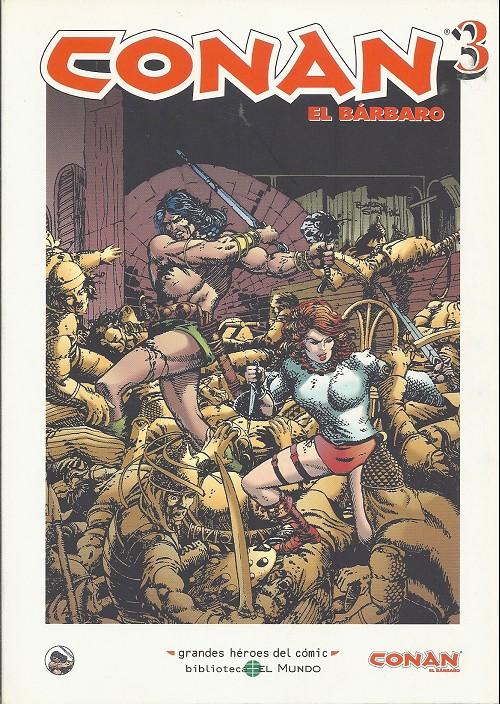 Couverture de Grandes héroes del cómic -25- Conan el bárbaro 3