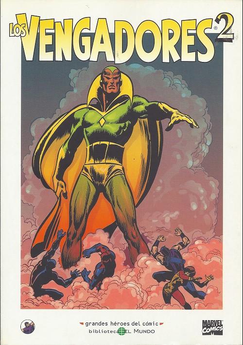 Couverture de Grandes héroes del cómic -39- Los vengadores 2