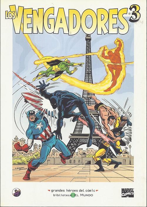 Couverture de Grandes héroes del cómic -40- Los vengadores 3