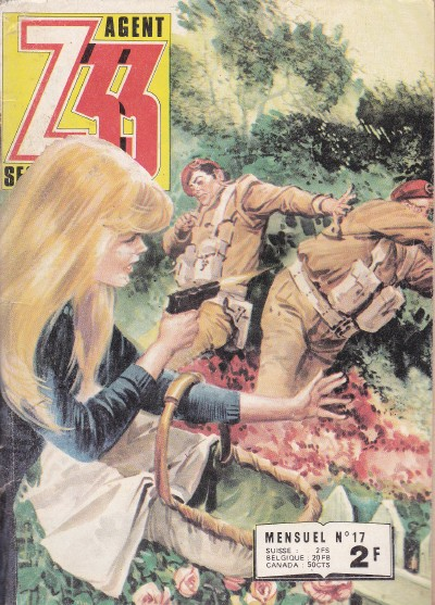 Couverture de Z33 agent secret -17- L'odyssée du Capitaine Heide