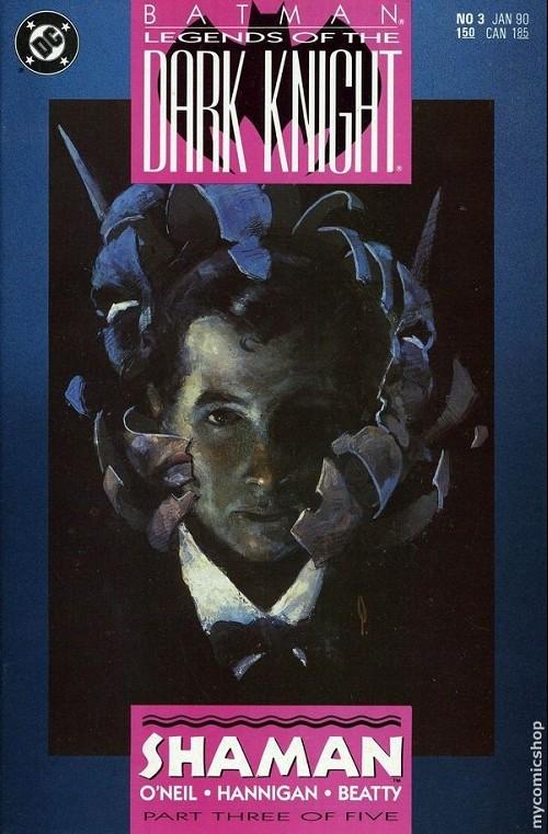 Couverture de Batman: Legends of the Dark Knight (1989) -3- Shaman 3
