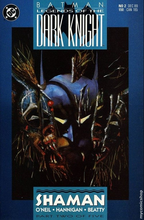 Couverture de Batman: Legends of the Dark Knight (1989) -2- Shaman 2