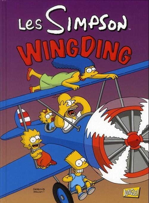 Couverture de Les simpson (Jungle !) -16- Wing Ding
