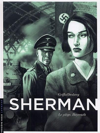 Couverture de Sherman -4- Le piège. Bayreuth