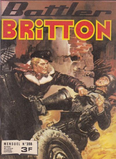 Couverture de Battler Britton -398- Action déloyale