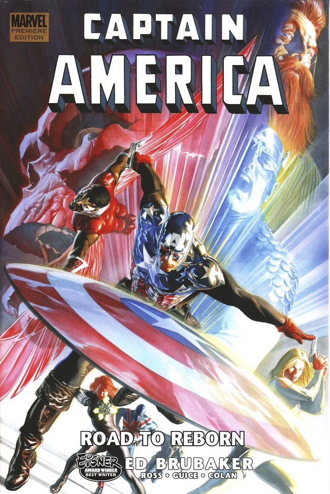 Couverture de Captain America (2005) -INT10- Road To Reborn