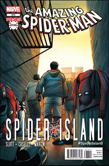 Couverture de Amazing Spider-Man (The) Vol.2 (Marvel comics - 1999) -673- Spider island epilogue : the naked city