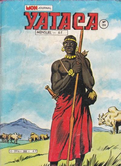 Couverture de Yataca (Fils-du-Soleil) -203- Drames dans les savanes