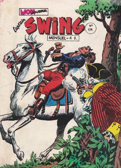 Couverture de Capt'ain Swing! (1re série) -176- Le vautour et le paralytique
