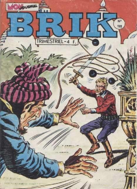 Couverture de Brik (Mon journal) -193- Douze balles dans la peau...
