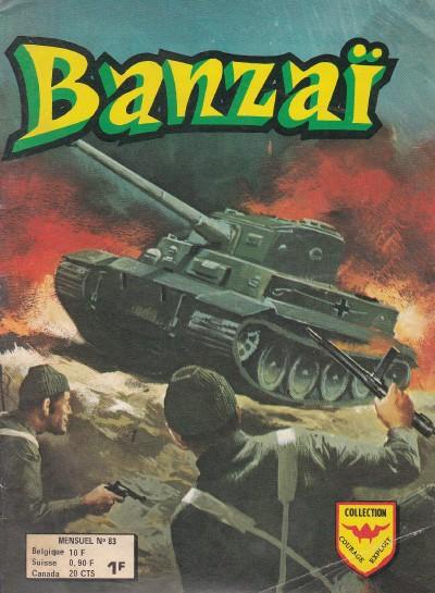 Banzai 3 tomes CBR