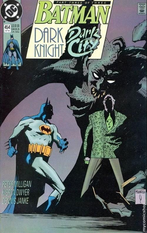 Couverture de Batman (1940) -454- Dark knight, dark city 3