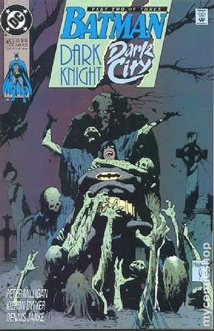 Couverture de Batman Vol.1 (DC Comics - 1940) -453- Dark knight, dark city 2