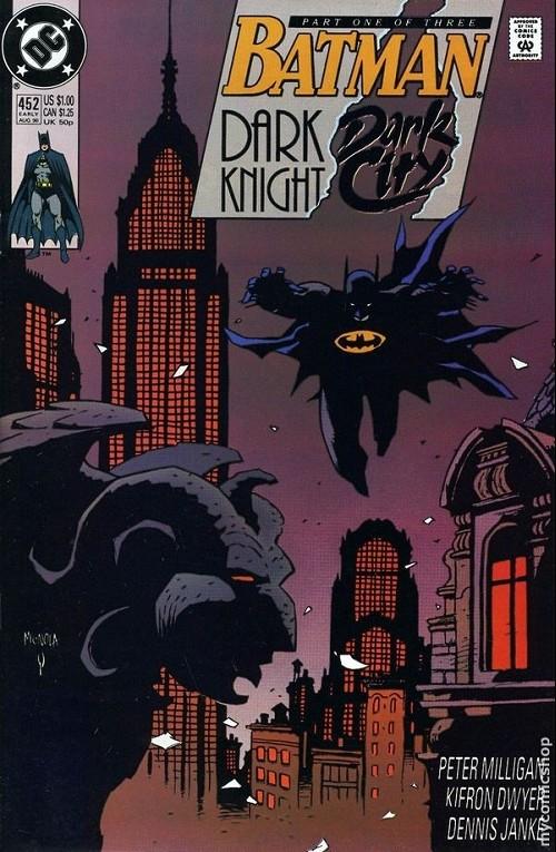 Couverture de Batman (1940) -452- Dark knight, dark city 1