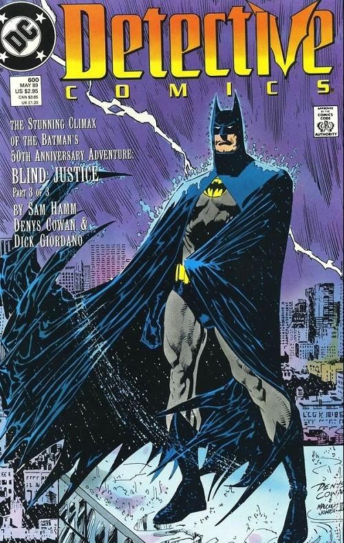 Couverture de Detective Comics (1937) -600- Blind justice 3