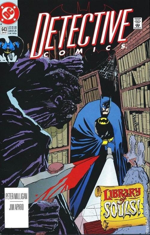 Couverture de Detective Comics (1937) -643- Detective comics : batman