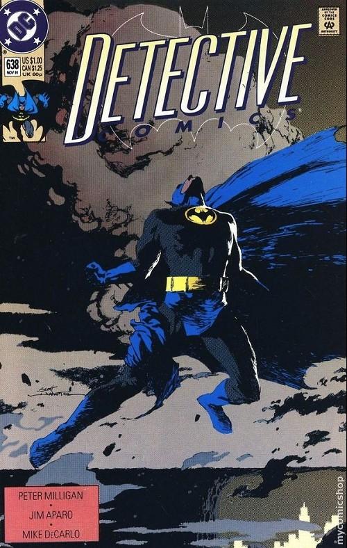 Couverture de Detective Comics (1937) -638- Detective comics : batman