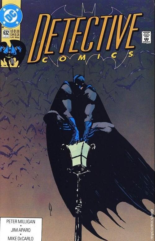 Couverture de Detective Comics (1937) -632- Detective comics : batman