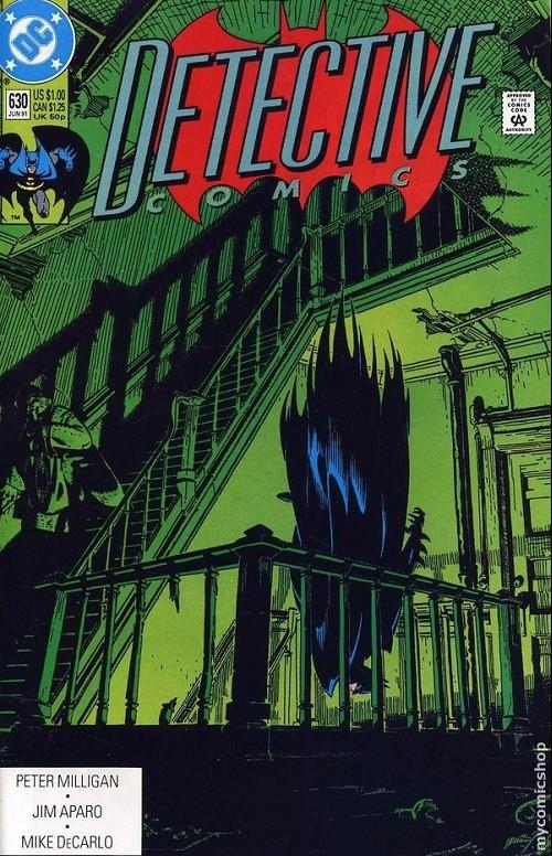 Couverture de Detective Comics Vol 1 (1937) -630- Detective comics : batman