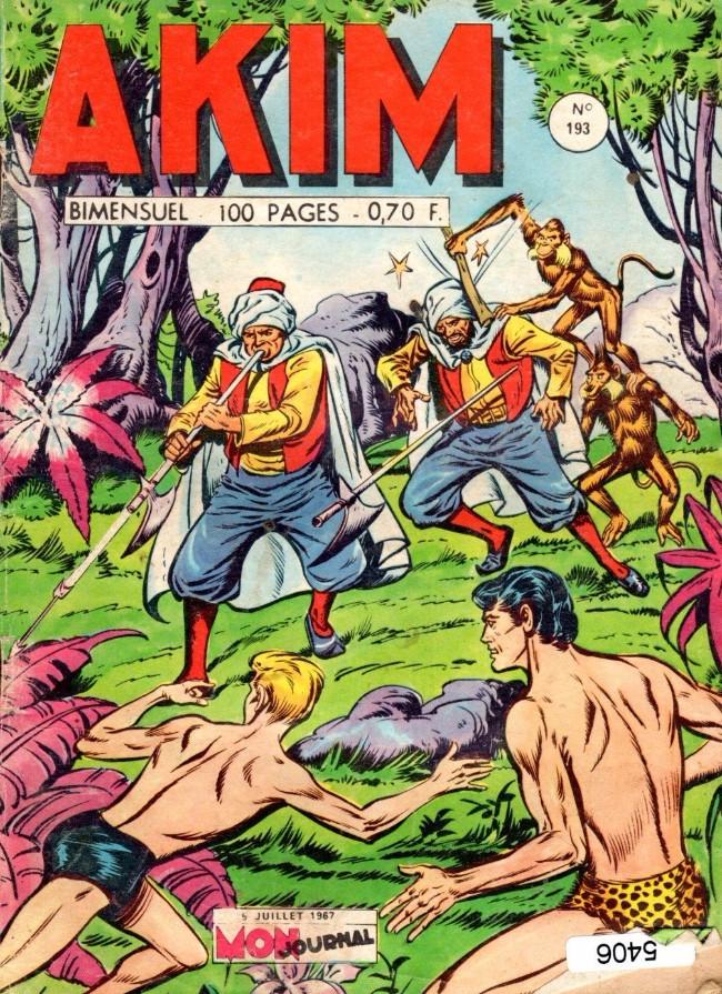 Couverture de Akim (1re série) -193- La princesse Sarès