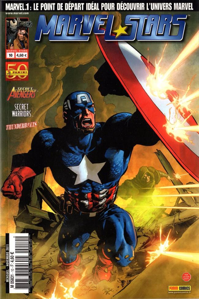 Couverture de Marvel Stars -10- Conviction