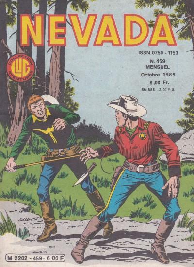 Couverture de Nevada (LUG) -459- Numéro 459